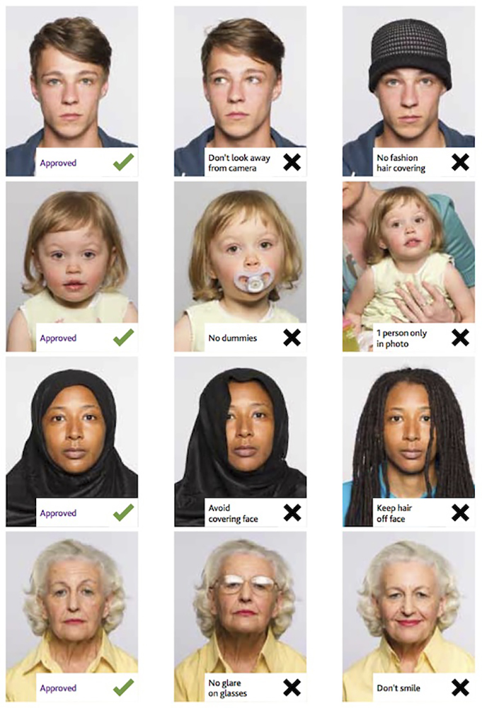 <h2>Guidance on how passport photos should be taken (from https://assets.publishing.service.gov.uk/static/passport_photos_large.jpg)</h2>