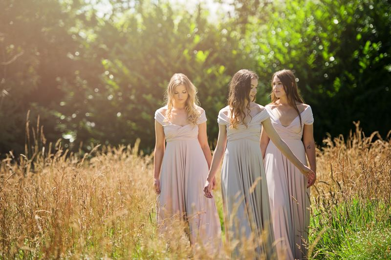 Bridesmaid Inspiration at Swanton Morley House & Gardens
